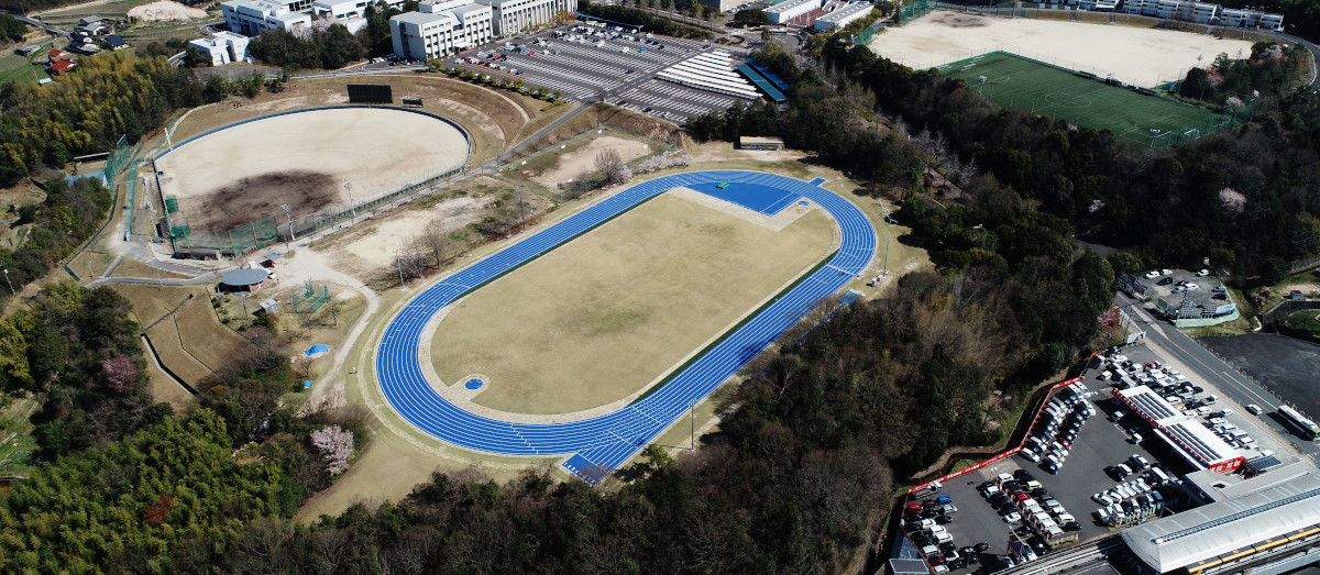 広島修道大学陸上競技場